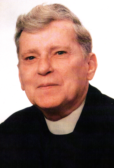 Father James Quinn, founding pastor of Saint John Vianney Parish, Johnstown, PA
