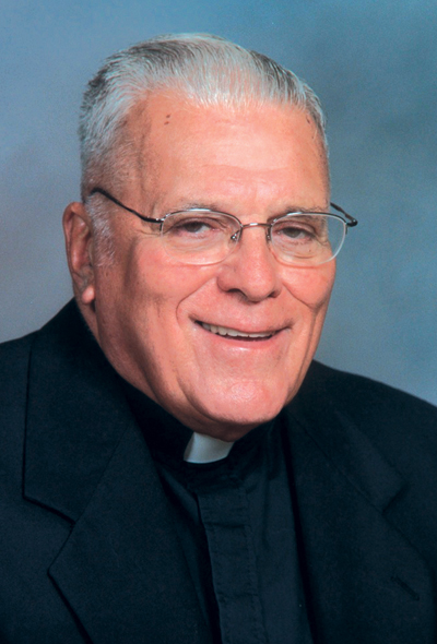Father Paul Robine, second pastor of Saint John Vianney Parish, Johnstown, PA