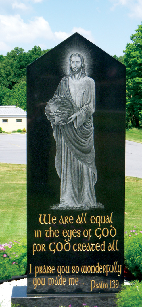 Monument to Life at Saint John Vianney Parish, Johnstown, PA